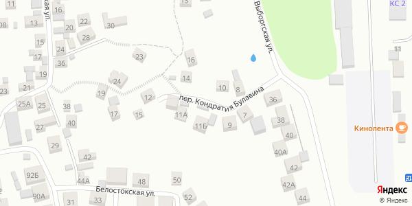 Кондратия Булавина Переулок в Воронеже