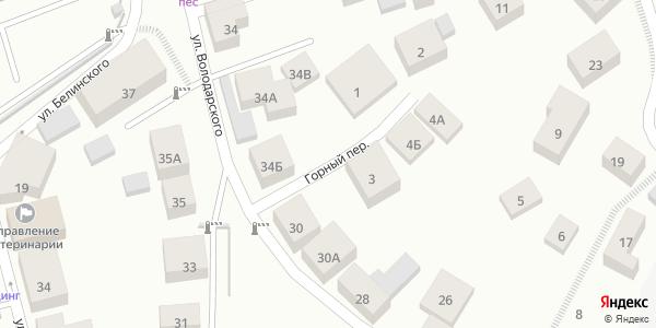 Горный Переулок в Воронеже