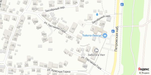 Песчаная гора Улица в Воронеже