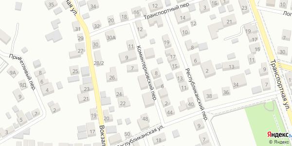 Коминтерновский Переулок в Воронеже