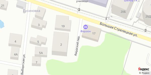 Амурский Переулок в Воронеже