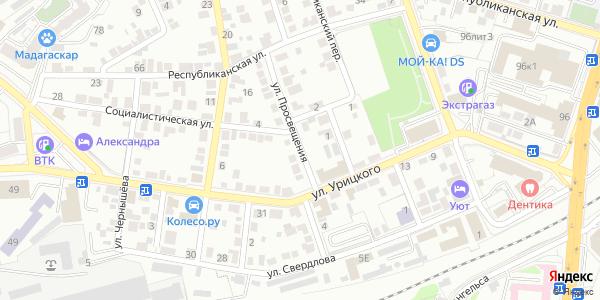 Просвещения Улица в Воронеже