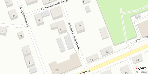 Исполкомовский Переулок в Воронеже