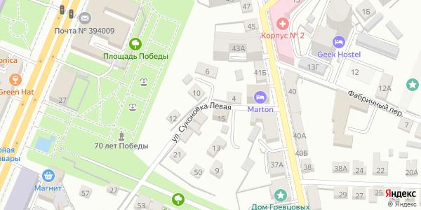 Суконовка Левая Улица в Воронеже