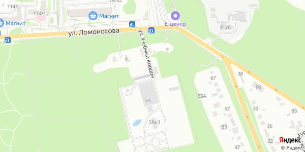 Учебный кордон Улица в Воронеже