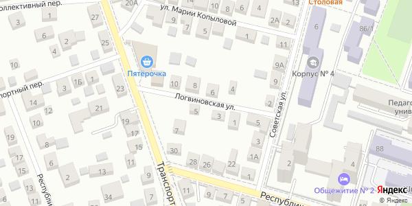 Логвиновская Улица в Воронеже