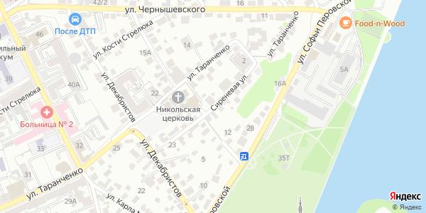 Сиреневая Улица в Воронеже