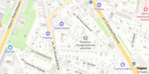 Фабричный Переулок в Воронеже