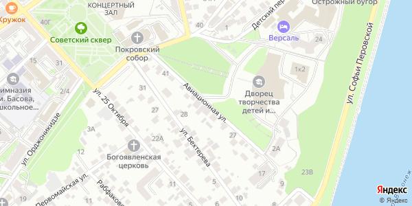 Авиационная Улица в Воронеже