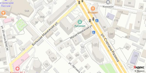 Манежная Малая Улица в Воронеже