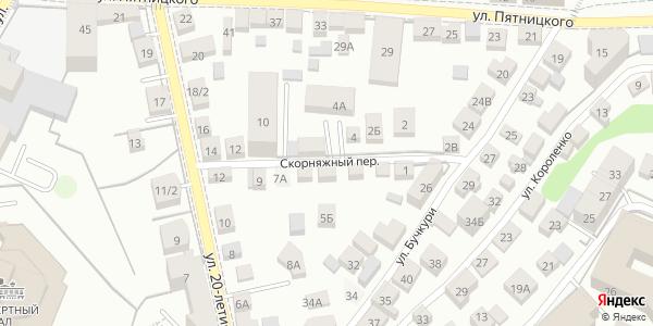 Скорняжный Переулок в Воронеже
