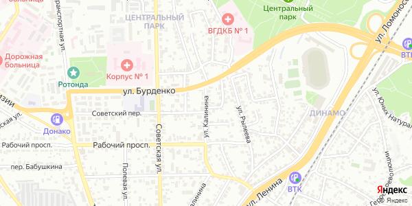 Калинина Улица в Воронеже