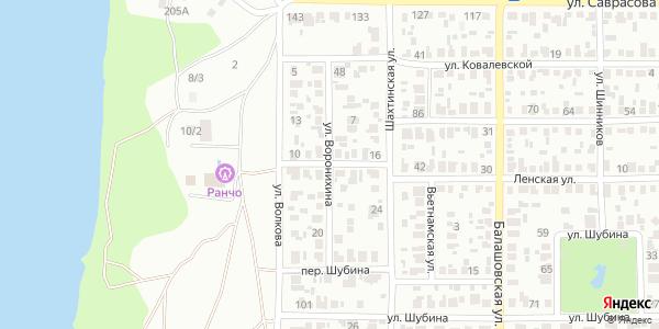 Воронихина Улица в Воронеже
