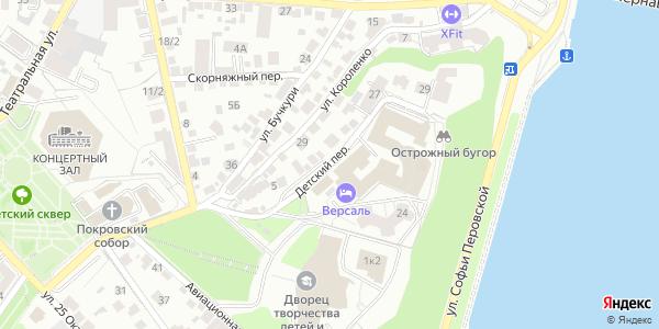Детский Переулок в Воронеже