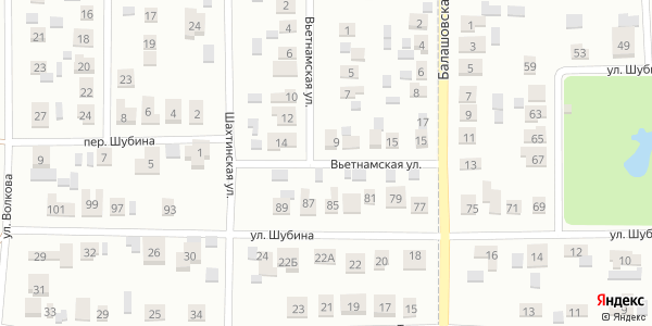 Вьетнамская Улица в Воронеже