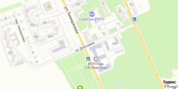Докучаева Улица в Воронеже