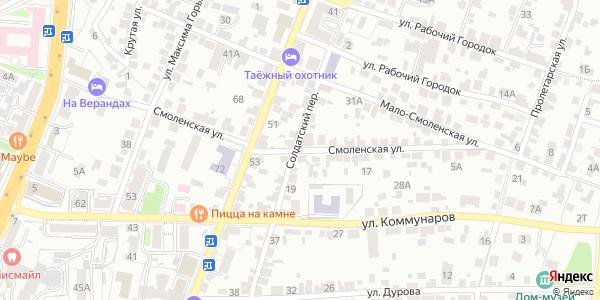 Смоленская Улица в Воронеже