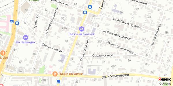 Солдатский Переулок в Воронеже