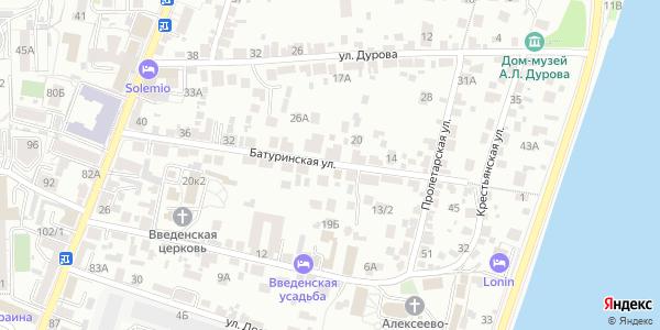 Батуринская Улица в Воронеже