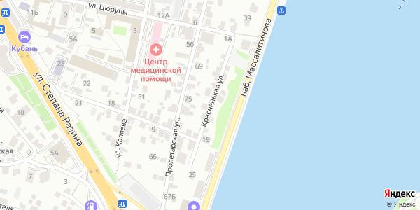 Красненькая Улица в Воронеже