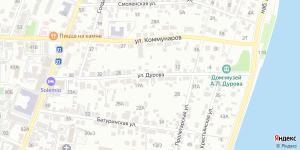 Дурова Улица в Воронеже