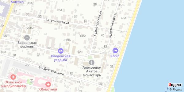 Пролетарская улица в Воронеже