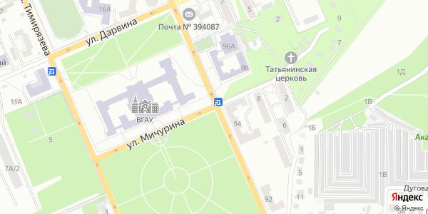 Мичурина Улица в Воронеже