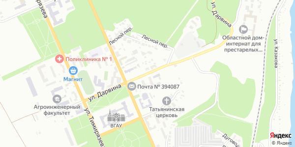Дарвина Улица в Воронеже