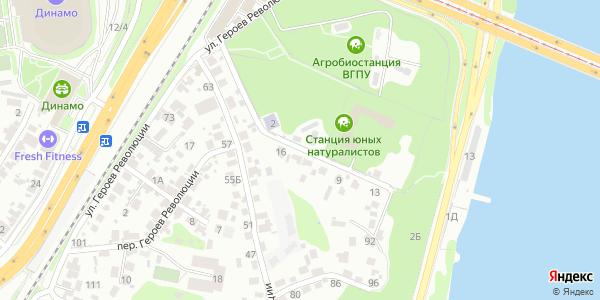 Юных натуралистов Улица в Воронеже