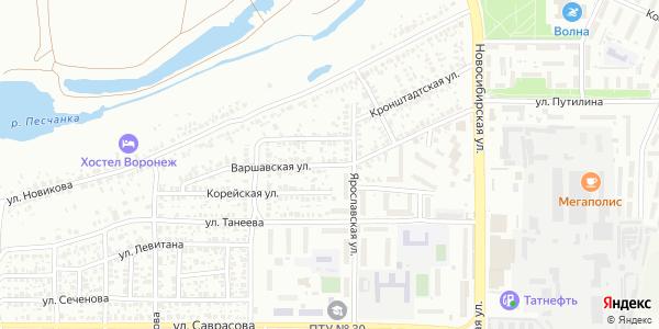 Варшавская Улица в Воронеже