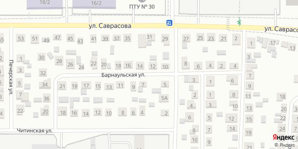 Барнаульская Улица в Воронеже
