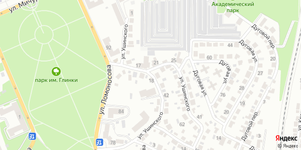 Ушинского Улица в Воронеже