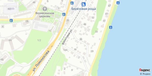 Фронтовая Улица в Воронеже