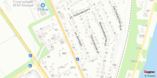 Келлера Улица в Воронеже