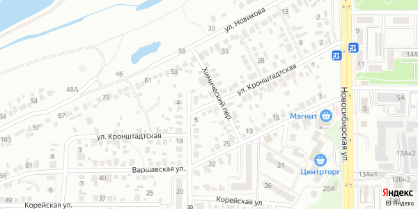 Кронштадтская Улица в Воронеже