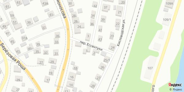 Ессентуки Переулок в Воронеже