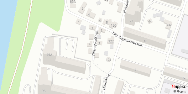 Планерный Переулок в Воронеже