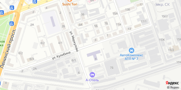 Кулибина Улица в Воронеже