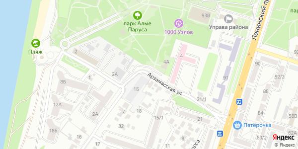 Арзамасская Улица в Воронеже