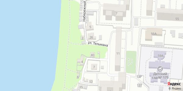 Тельмана Улица в Воронеже