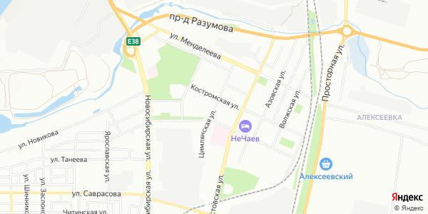 Цимлянская Улица в Воронеже