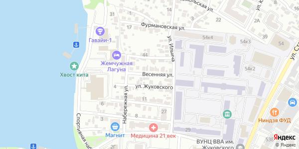 Весенняя Улица в Воронеже
