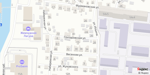 Гончаровская Улица в Воронеже