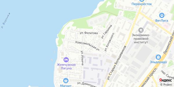 Комсомольская Улица в Воронеже