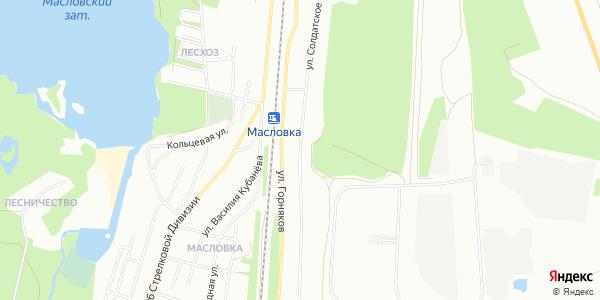 Солдатское поле Улица в Воронеже