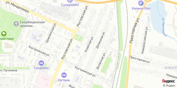 Азовская Улица в Воронеже