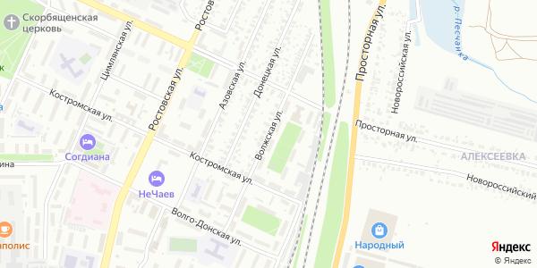 Волжская Улица в Воронеже