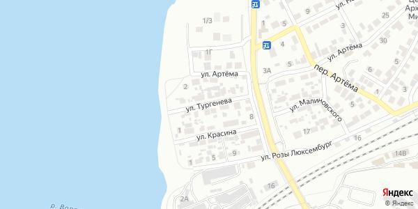 Тургенева Улица в Воронеже