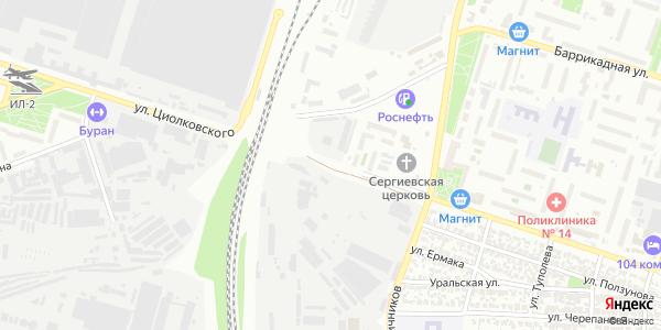 Циолковского Улица в Воронеже
