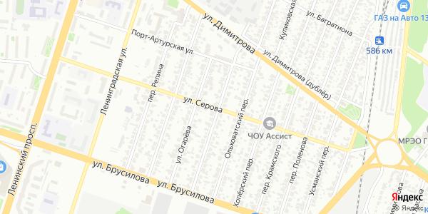 Серова Улица в Воронеже